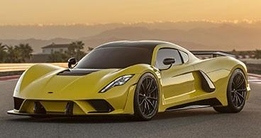 سریعترین خودروهای دنیا